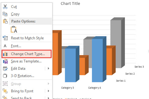 How To Change Chart Type in PowerPoint 2013 2