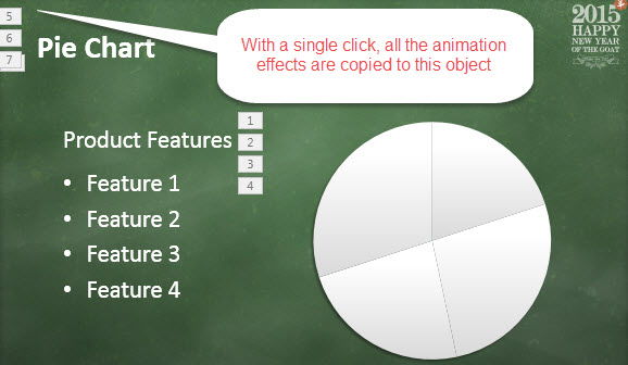 How To Copy Animation Effects in PowerPoint 2013 2