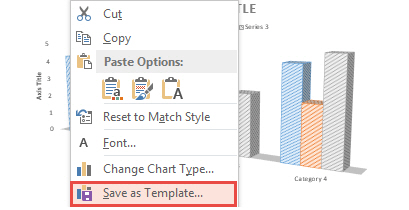 How To Create Chart Templates in PowerPoint 2013 1
