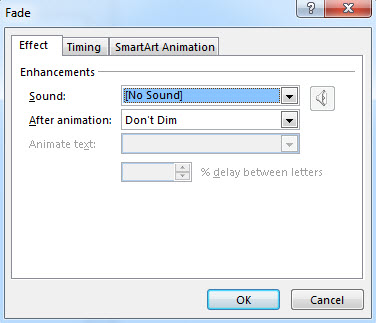 How To  Customize Animation Effects in PowerPoint 2013 4