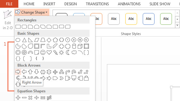 How To Customize SmartArt Elements in PowerPoint 2013 4