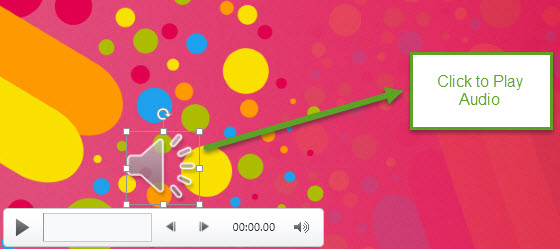 How To Insert Audio in PowerPoint 2013 4
