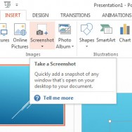 How To Insert Screenshots In PowerPoint 2013 1