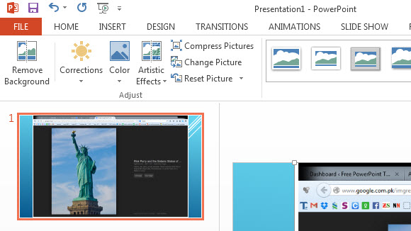 How To Insert Screenshots In PowerPoint 2013 - Free