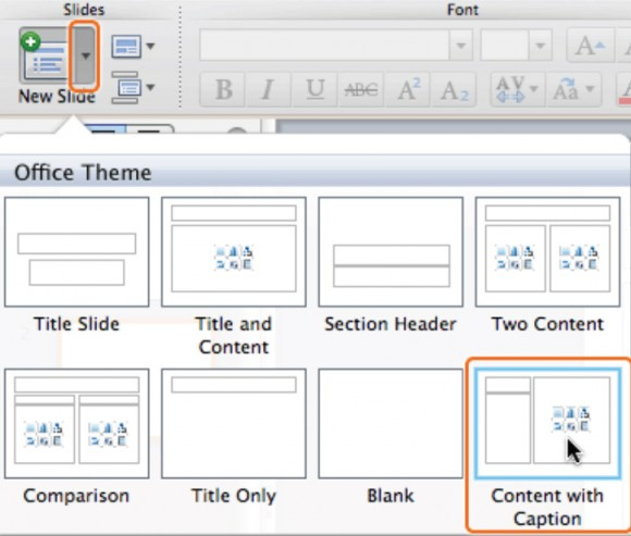 How To Insert Slides in PowerPoint 2011 for Mac 2