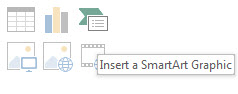 How To Insert SmartArt in PowerPoint 2013 1