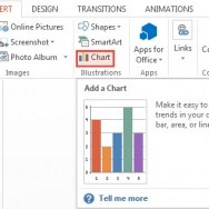 How To Insert a Chart in PowerPoint 2013 1