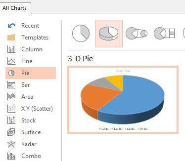 How To Insert a Chart in PowerPoint 2013 2