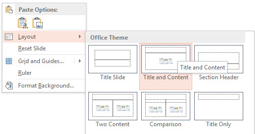 How To Insert a Chart in PowerPoint 2013 6