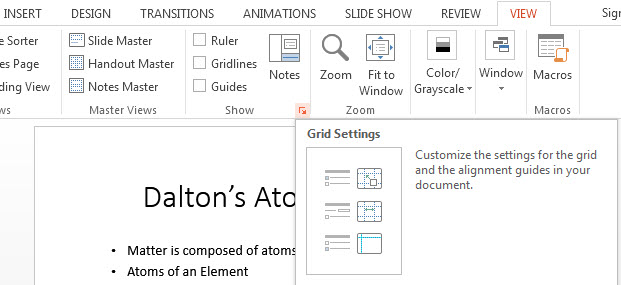 How To Position Objects in PowerPoint 2013 2