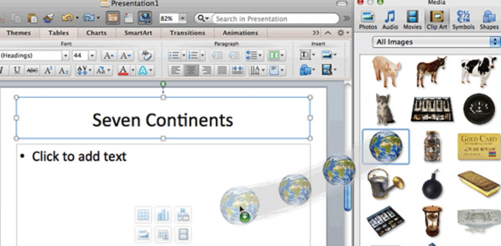 How to Add Slide Content in PowerPoint 2011 for Mac 7