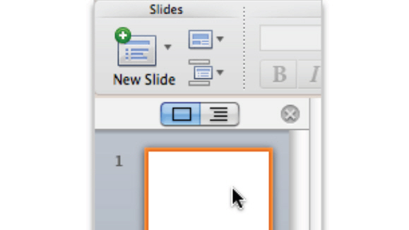 How to Add Slide Content in PowerPoint 2011 for Mac 1