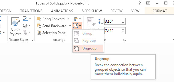 How to Group Objects in PowerPoint 2013 4