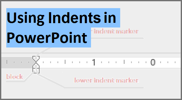 how to set an indent for bullet points in powerpoint 2013