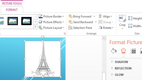 Insert Pictures and Animation in PowerPoint 2013 2