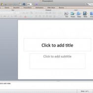 Introduction to PowerPoint 2011 for Mac User Interface 1