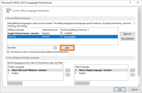 Language -- Start - Office Language Preferences - 3 - FreePowerPointTemplates