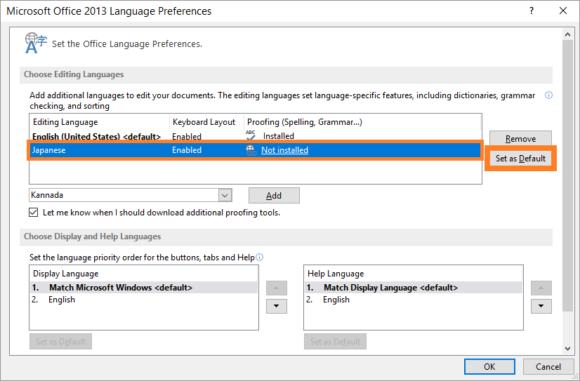 Language -- Start - Office Language Preferences - 4 - FreePowerPointTemplates