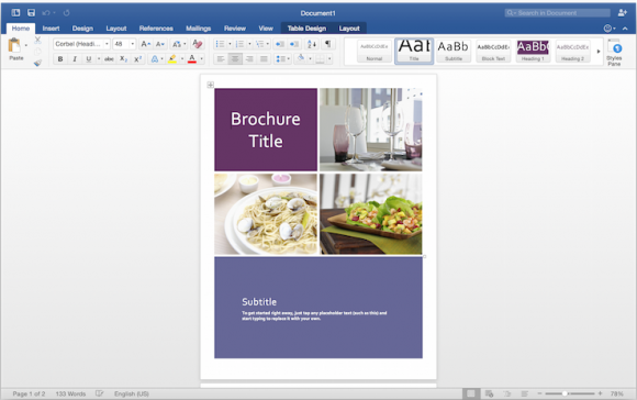 Microsoft Office 2016 For Mac Updated Preview 2 Free