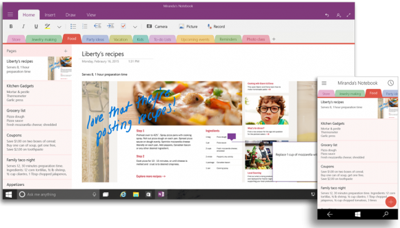 Office for Windows 10 Preview 4