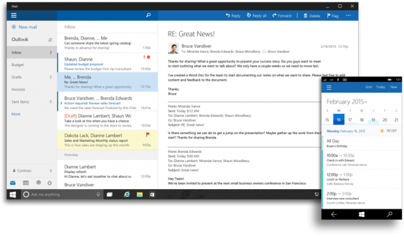 Office for Windows 10 Preview 5