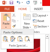 Paste Options -- 1 - FreePowerPointTemplates