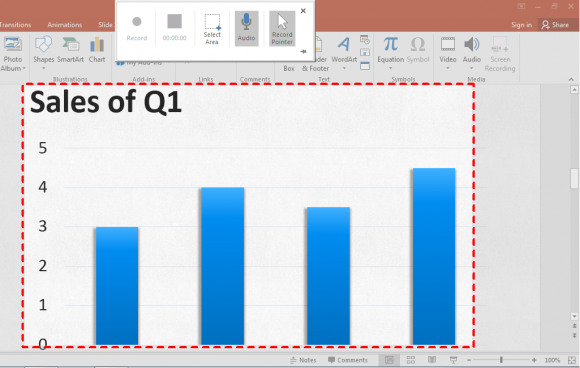 how to use ruler in powerpoint 2016