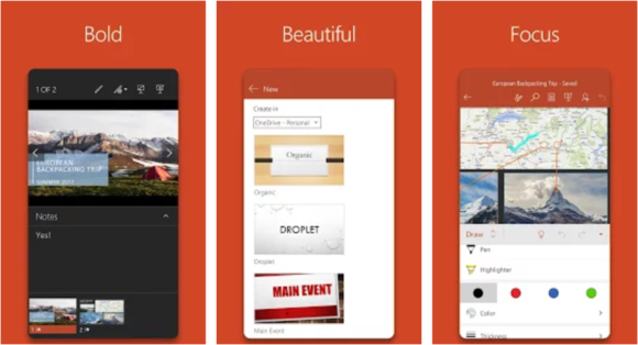 PowerPoint Presentations -- Screenshot - Google Play store - FreePowerPointTemplates