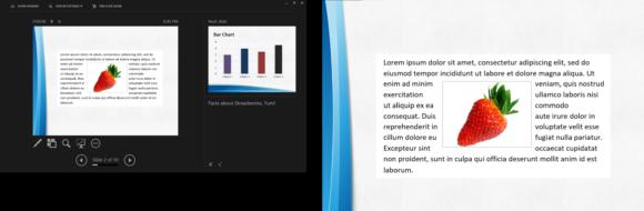 Presenter View -- Slide Show - Presenter View - 1 - PowerPoint 2013 - FreePowerPointTemplates
