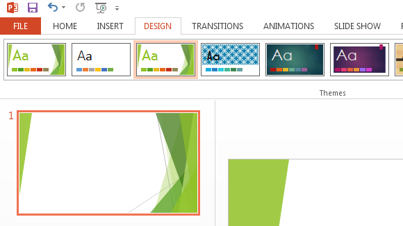 how to make powerpoint slide on an artcle