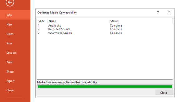 Smaller -- File - Optimize Compatibility - 2 - FreePowerPointTemplates
