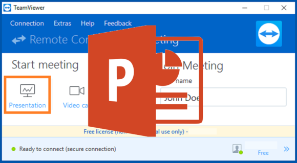 Give Any Presentation Remotely Using TeamViewer - Free