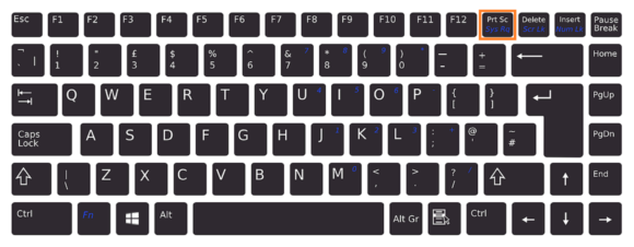 Wrap Text -- Keyboard - PrtSc- FreePowerPointTemplates